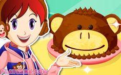 New Easy Cake : monkey cake, Biryani, Pavlova, Sara's Cooking Class, California Rolls, Pasta Carbonara, Class Games, Princess Peach, Disney Princess, Fettuccine Alfredo