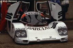 RSC Photo Gallery - Silverstone 1000 Kilometres 1985 - Porsche 962 no.10 - Racing Sports Cars