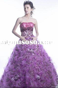 Keeppy :: Purple Wedding Dresses