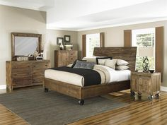 Get inspired by Modern Rustic Bedroom Design photo by Wayfair. Wayfair lets you find the designer products in the photo and get ideas from thousands of other Modern Rustic Bedroom Design photos. Distressed White Bedroom Furniture, Bedroom Furniture Sets, Bedroom Sets, Home Furniture, Queen Bedroom, Queen Headboard, Upholstered Furniture, Furniture Makeover, Wicker Bedroom