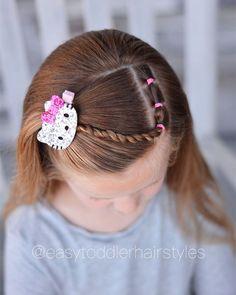 Tiffany ❤️ Hair For Littles ( Easy Toddler Hairstyles, Easy Little Girl Hairstyles, Baby Girl Hairstyles, Princess Hairstyles, Prom Hairstyles, Twist Braid Hairstyles, Twist Braids, Braids Easy, Updo Hairstyle
