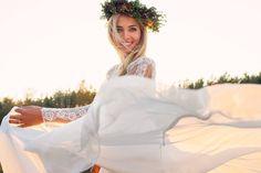 Boho wedding , perfect flower headband