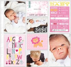 Embellished Cards - Baby Girl
