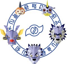 Digimon: Crest of Friendship by Sindor
