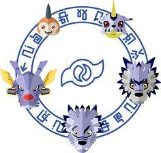 Digimon: Crest of Friendship by Sindor