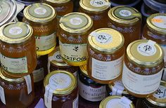 Sardinian markets, honey, Pula