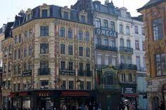 Almost every building was gilded and inset with characters from the ...
