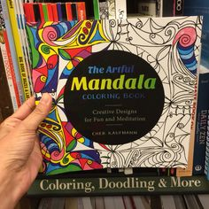 The Artful Mandala Coloring Book by Cher Kaufmann