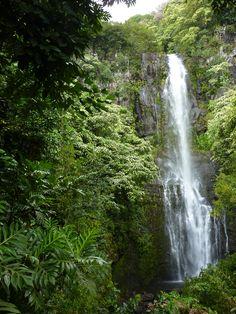 Waterfall, Hana Highway - Maui