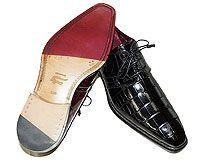 Mezlan Platinum Custom # 3821 at AlligatorWorld.com - Exotic Skin Shoes