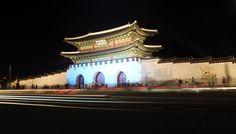 서울 광화문. Gwanghwamun, Seoul, Korea.