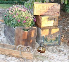 crates - Southern Vintage Wedding Rentals
