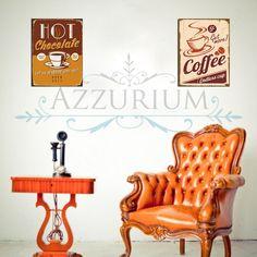 Quadros vintage!  www.azzurium.com.br