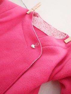 Esprit Kimono pour les Petits Leiko et Jun * Au fil de la Lune * blog couture