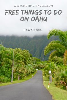 10 FREE Things to do on Oahu, Hawaii (With images) Hawaii Vacation, Hawaii Travel, Solo Travel, Time Travel, Travel Usa, Places To Travel, Oahu Hawaii, Travel Destinations, Beach Travel