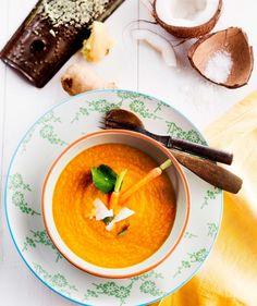 Thaimaalainen porkkana-kookoskeitto, resepti – Ruoka.fi