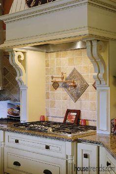 Decorative Tiles For Kitchen Backsplash Broenfireplace1  Warm And Cozy Fireplaces  Pinterest  Tile
