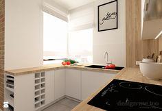 SZCZYPTA KOLORU NA SZCZĘŚLIWICACH - Kuchnia, styl nowoczesny - zdjęcie od design me too