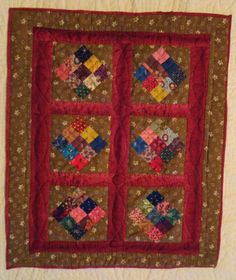 The Civil War Quilter: Doll Quilts and a Studio Treasure