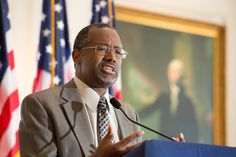 Dr. Ben Carson at the Nixon Library