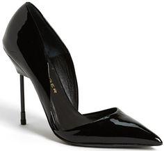 Kurt Geiger London Bond Patent Leather Pump $385.00 #shoes #heels #pumps- For more photos Click Here: http://www.needcuteshoes.com/products/kurt-geiger-london-bond-patent-leather-pump/