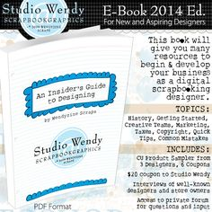 Get the Insider's Guide to Designing http://www.digitalscrapbookinghq.com/get-insiders-guide-designing/