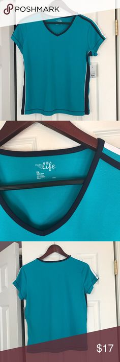 Made for life Sports T-shirt PM Brand new with tags! Super cute Made For Life  Tops Tees - Short Sleeve