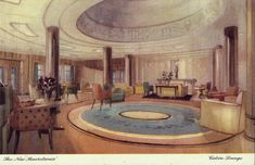 The Cabin Lounge - The Mauretania