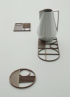 Only Deco Love: Ferm Living news – AW 2015 - like the shapes and forms, would like them more 3D, different angles going up and down aswell.