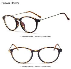 4b2826f2d9b1 Brand Unisex Fashion Vintage Round Eyeglasses Metal Temples Frame For Eyewear  Women Myopia Eye Glasses Frame Men Optical Glasses