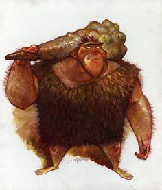 Croods character design