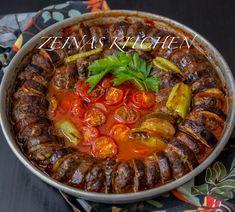 Patlican kebab- Turkisk kebab med aubergine