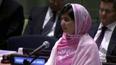 Malala. One girl among many. >>> A beautiful video — girls around the world echo Malala's words a couple days before she steps up to receive the Nobel (12/10/14).