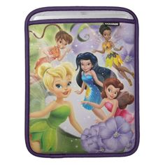 Tinkerbell and Friends iPad Sleeve
