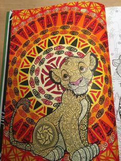 The lion king mandalazentangle drawn by me Devon Yelverton  Artsy shtuff  Disney drawings