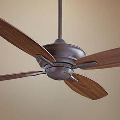 "52"" Minka Aire New Era Energy Star Bronze Ceiling Fan - #K4640 | LampsPlus.com"