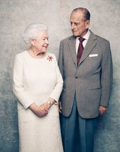 Queen Elizabeth and Prince Philip 70th anniversary Nov 2017 MATT HOLYOAK/CAMERA PRESS/Redux