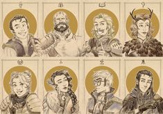 Critical Role Foil Portraits · DeMartini Designs · Online Store Powered by Storenvy Geek Chic Fashion, Vox Machina, Critical Role Fan Art, Geek Gifts, Dragon Age, Fantasy Characters, Dungeons And Dragons, Art Inspo, Illustration Art