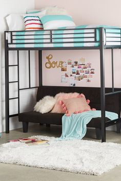Shop the best dorm decor styles at the best value. My New Room, My Room, Girl Room, Girls Bedroom, Bedroom Decor, Kid Bedrooms, Bedroom Ideas, Awesome Bedrooms, Cool Rooms