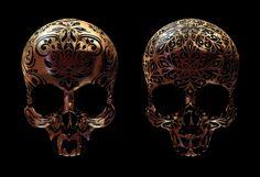 billy bogiatzoglou skulls prints geekeve art