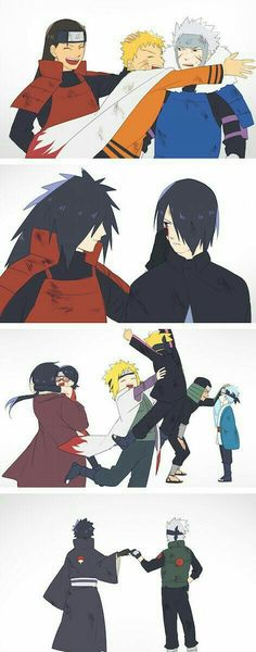 If these peoples were still alive I be happy especially Itachi I really want him to meet Sarada