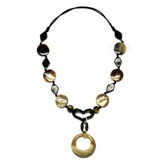 QueCraft Horn String Necklace - Q4195