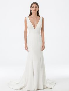Looking for your perfect wedding dress? Check out Amaline by Amaline Vitale. It is our Ready To Wear collection featuring stunning dresses made of luxe fabric. Perfect Wedding Dress, Your Perfect, Stunning Dresses, Formal Dresses, Wedding Dresses, Dress Making, Fit And Flare, Ready To Wear, Gowns