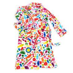 Dylan's Candy Bar Fuzzy Candy Spill Robe - Women