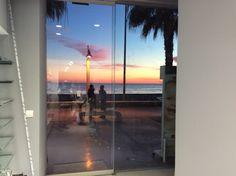 Vistas desde el interior de la farmacia Victoria, Beach, Water, Interior, Outdoor, Renovation, Pharmacy, Gripe Water, Outdoors