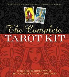 The Complete Tarot Kit The Complete Tarot Kit includes everything needed for beginner to intermediate students. The book within the kit is an excellent instruction guide. Susan Levitt's teaching and writing style makes learning the tarot so easy for Deck Of Cards, Your Cards, Card Deck, Tarot Gratis, Tea Reading, Cat Online, Rider Waite Tarot, Numerology Chart, Tarot Readers