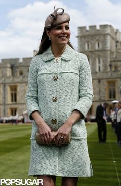 Kate Middleton gives us a look her baby bump! Get more pics here!