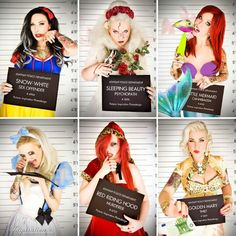 Disney princesses gone wild!