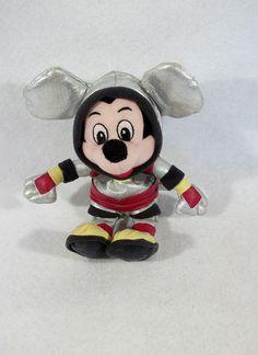 "Disney Spaceman Mickey Mouse 9"" plush doll toy"