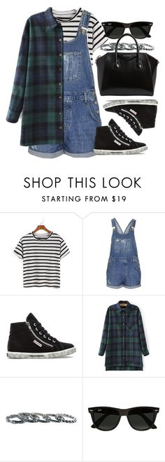 """Style #11678"" by vany-alvarado ❤ liked on Polyvore featuring Topshop, Superga, Southwest Moon, Ray-Ban and Givenchy"